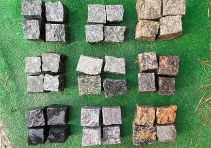Kostka granitowa w ogrodzie