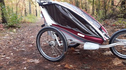 Przyczepka rowerowa dla dzieci czy ...
