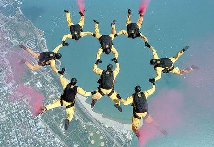 Najlepsza pogoda na skakanie ze spadochronem