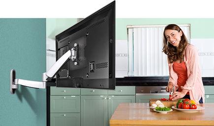 Jakie uchwyty do telewizorów z zakrzywionym ekranem?