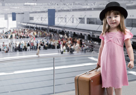 Lotnicze podróże z dziećmi