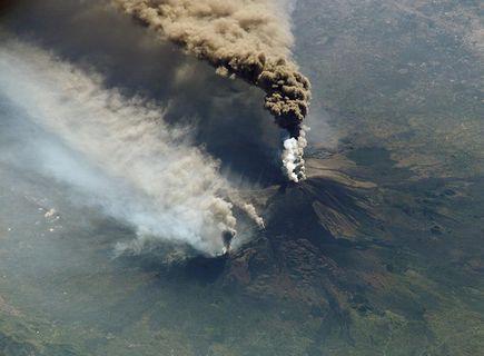 Etna, wulkan na Sycylii