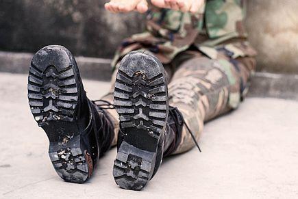 Odzież militarna - styl ubioru, styl życia.