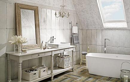 Salon kąpielowy - projekt dużej łazienki
