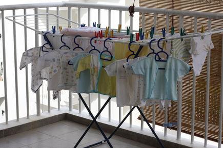 Jak prać ubranka dla niemowląt