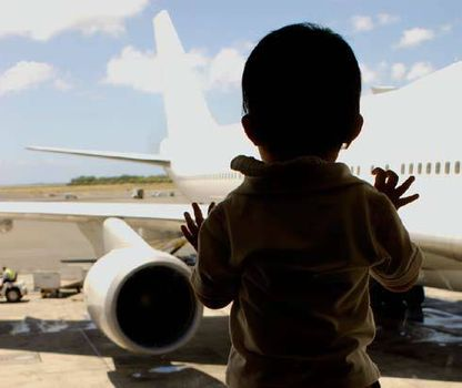 Udana podróż samolotem z dzieckiem