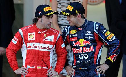 Fernando Alonso: Życzę Vettelowi szczęścia