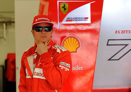 """Raikkonen gotowy na """"walkę"""" z Vettelem."""