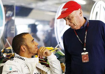 Lewis Hamilton, przedłuży kontrakt z Mercedesem - Niki Lauda.