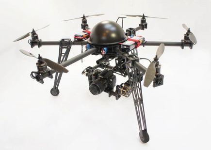 Komercyjne wykorzystanie dronów