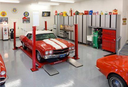 Z czego jest wykonana nawierzchnia w centrach handlowych i w podziemnych garażach?