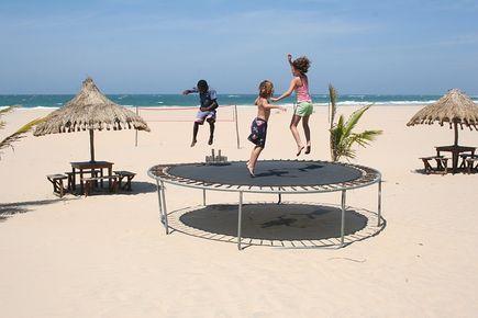 3 ciekawe ćwiczenia na trampolinie