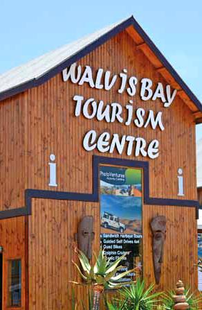 Walvis Bay centrum turystyczne