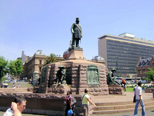 Pomnik Paula Krugera w Pretorii przy Church Square