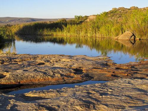 Skaliste baseny wKlifie Buszmena