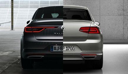 Renault Talisman kontra Volkswagen ...