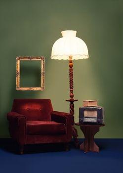 Nastrojowe oświetlenie salonu