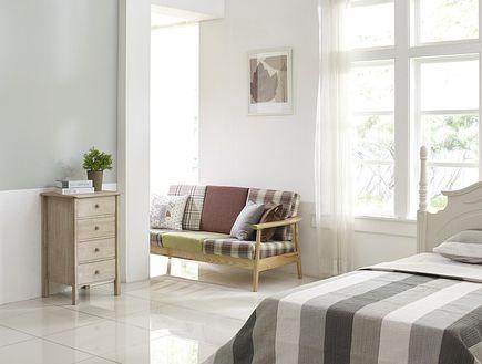 Przytulna sypialnia na zimę