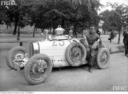 Słynni polscy kierowcy - Jan Ripper