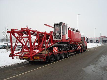 W jaki sposób przewozi się ciężkie maszyny?