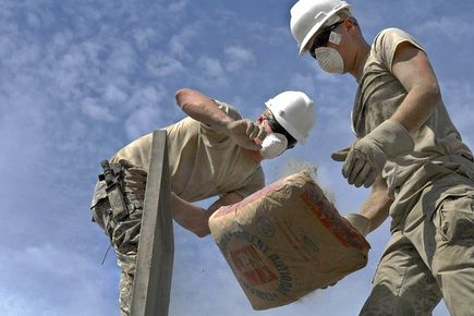 Produkcja materiałów budowlanych