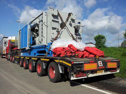 Transport ponadgabarytowy - czyli jak transportować naprawdę duże ładunki