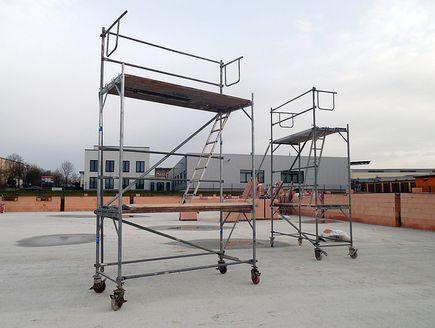 Rusztowanie aluminiowe przejezdne -...