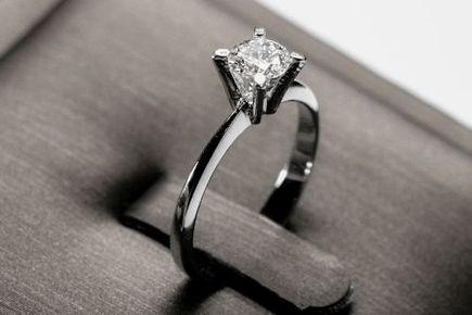 Srebrny pierścionek zaręczynowy – gdzie go szukać i jak wybrać?