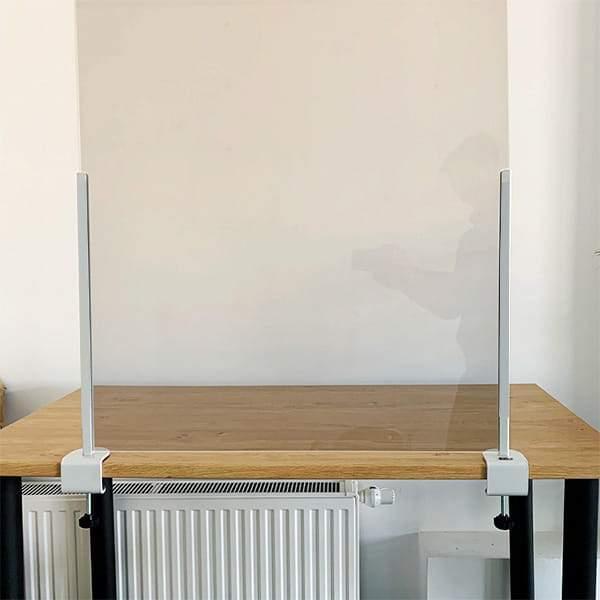 osłona z pleksi na biurko