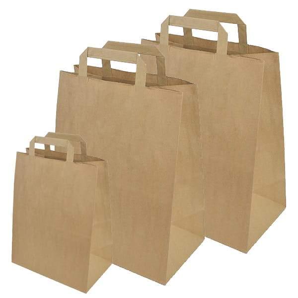 Papierowe opakowania do sklepów