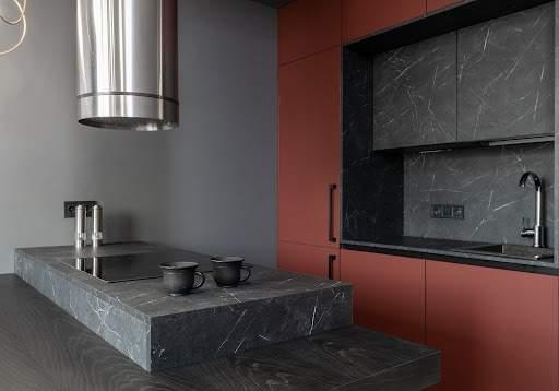 blaty kuchenne - granit