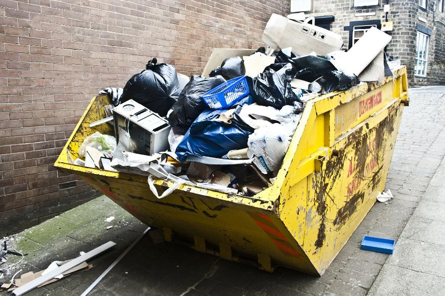 Wywóz odpadów do recyklingu i utylizacji