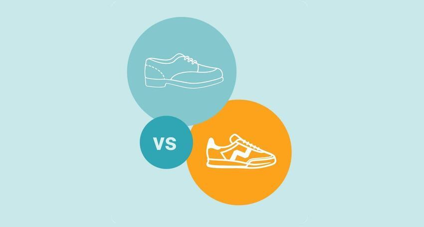 Sneakersy czy skórzane buty? Które posłużą lepiej przez 10 lat?
