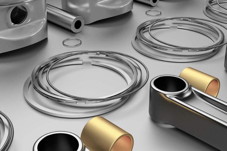 Pierścienie tłokowe w silniku spalinowym