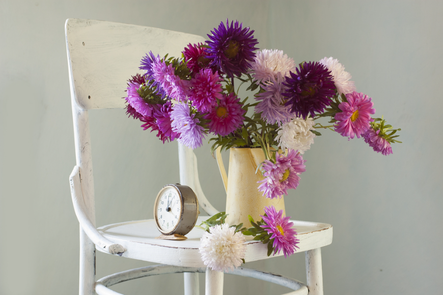 Pomysł na ciekawe zdjęcia a kwiaty sztuczne?