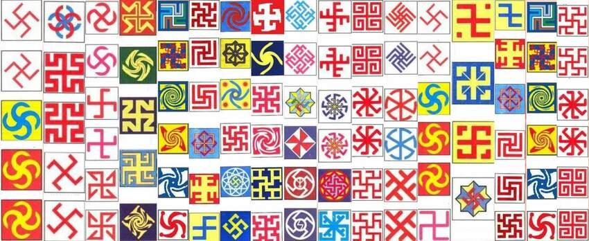 Symbole na ubraniach, rytuały i włosy w życiu codziennym Słowian