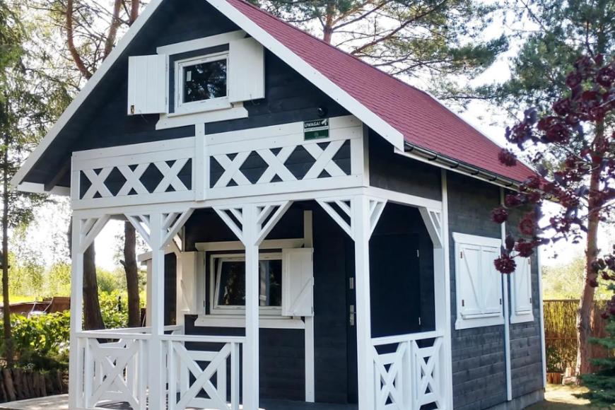 Ile kosztuje drewniany domek na działkę rekreacyjną?