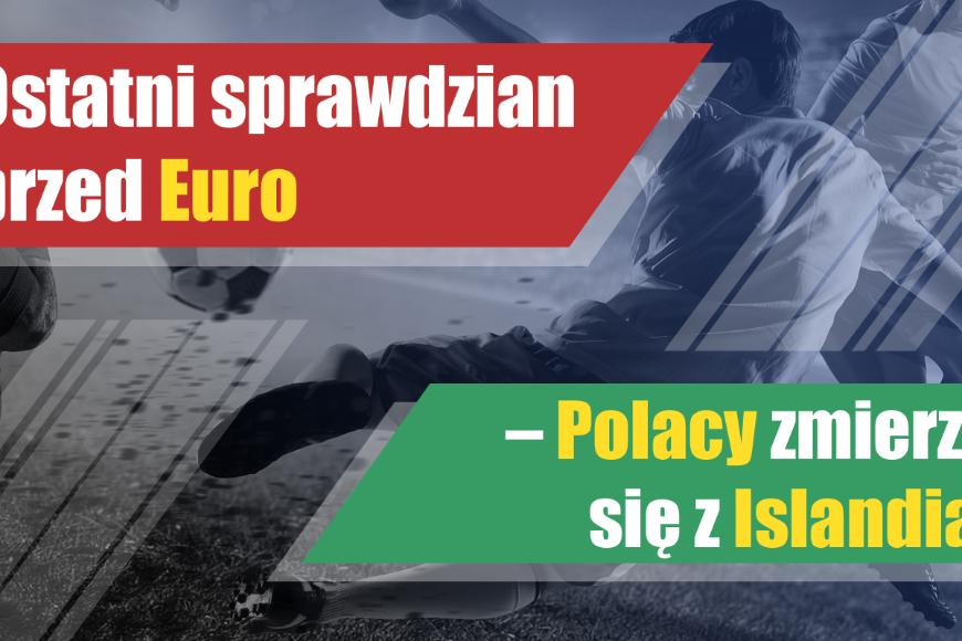 Ostatni sprawdzian przed Euro – Polacy zmierzą się z Islandią!
