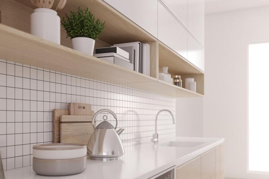 Co położyć na ścianę pomiędzy szafki kuchenne?
