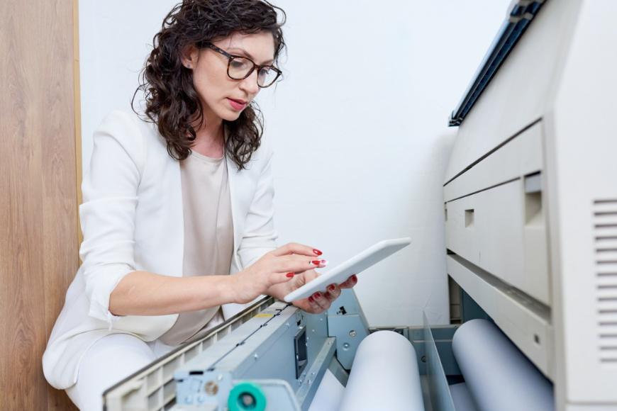 Kompleksowa dzierżawa drukarek