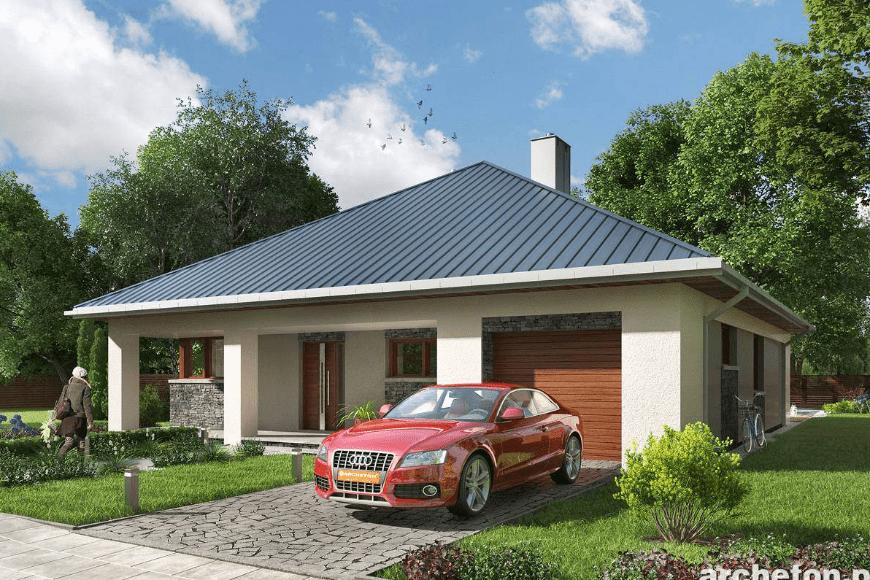 Nowoczesne domy parterowe do 120 m2 – marzenia w nowoczesnym stylu
