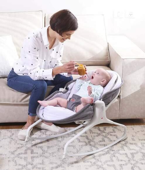 Dlaczego warto kupić leżaczek dla niemowlaka?