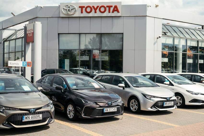 Niezawodne samochody używane marki Toyota