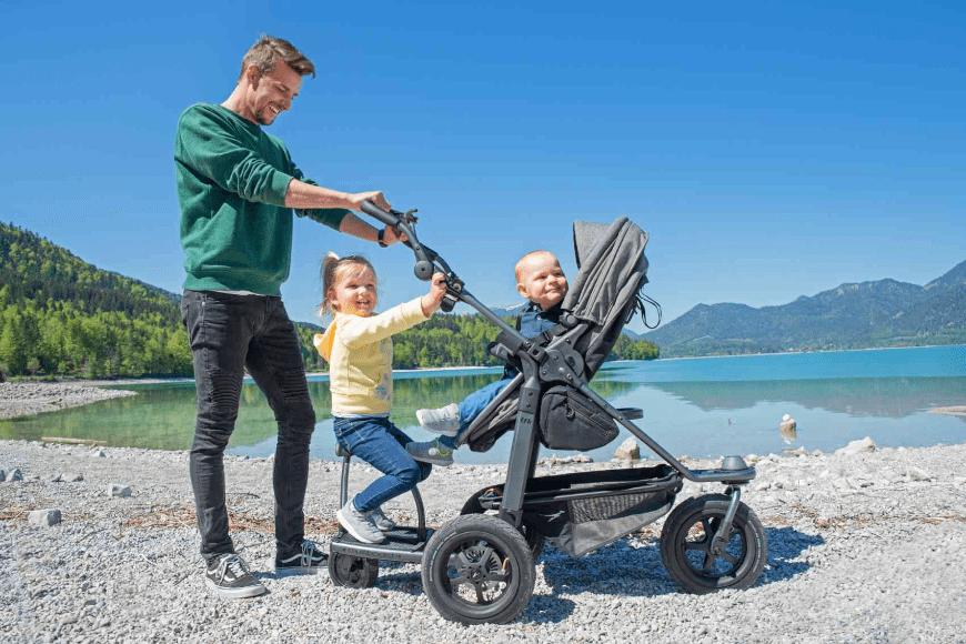 Wózek sportowy - nie tylko na trening z dzieckiem