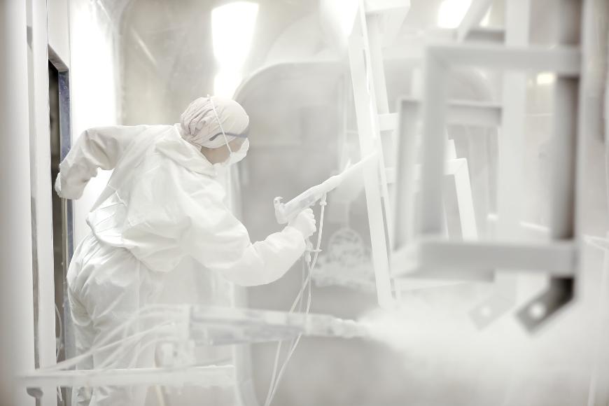 Malowanie proszkowe – definicja i proces malowania