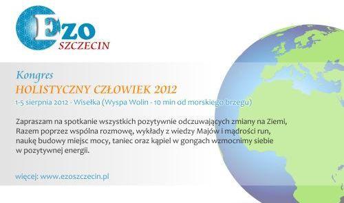 Kongres Holistyczny Człowiek 2012