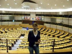 Natalia w Euro Parlamencie